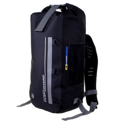 Overboard Classic Waterproof Backpack - 20 Litres, Black - Thermo Hero