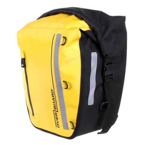 Overboard Classic Waterproof Bike Pannier - 17 Litres, Yellow - Thermo Hero