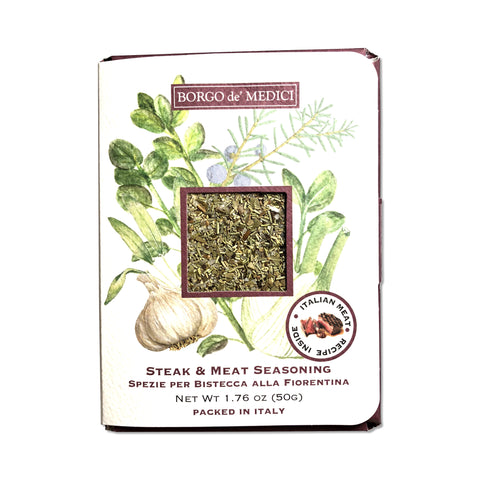 STEAK & MEAT SEASONING (Bistecca alla Fiorentina) - 1.76oz / 50g