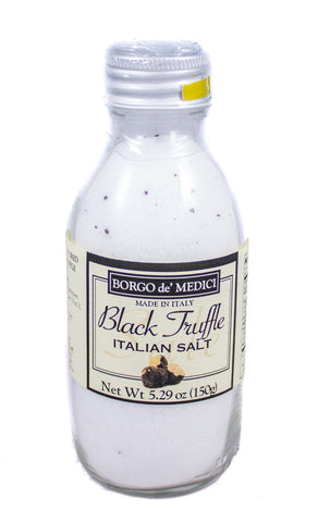 BLACK TRUFFLE SEA SALT - 5.29oz / 150g