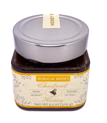 Chestnut Honey from Tuscany Italy - Miele di Castagno - 9.5oz/270g