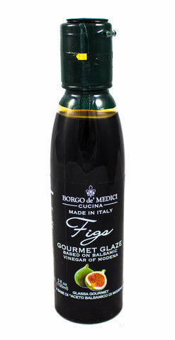 FIG BALSAMIC GLAZE - 5fl oz / 145ml - Product of Italy