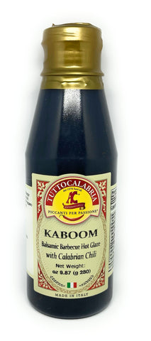 KABOOM Balsamic Barbecue Hot Glaze with Calabrian Chili Peppers - 280g/9.9oz