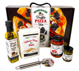 Festa Italiana Homemade Truffle Pizza Kit - Pizza Cutter included - Make Your Own Pizza – Italian Food Cooking Gift Set
