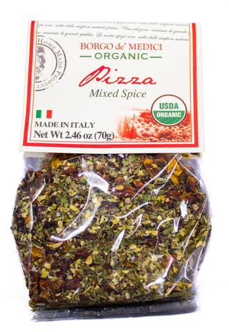 ORGANIC PIZZA SEASONING BLEND - 2.46oz / 70g
