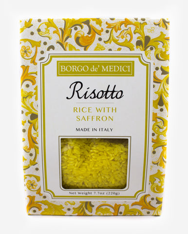 SAFFRON RISOTTO MIX - 7.7oz / 220g - Product of Italy
