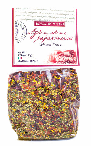AGLIO,OLIO & PEPERONCINO SEASONING BLEND - 5.3oz / 150g - Product of Italy