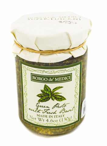 GOURMET BASIL PESTO - 4.6oz / 130g - Product of Italy
