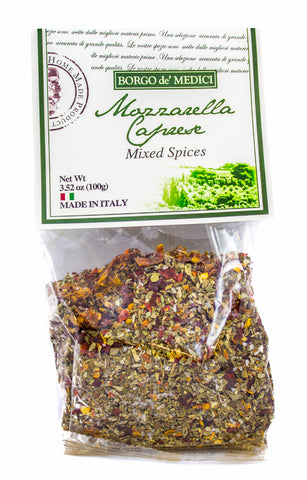 MOZZARELLA CAPRESE SEASONING BLEND - 3.5oz / 100g - Product of Italy