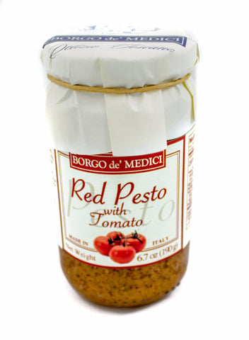 RED PESTO - 6.7oz / 190g - Product of Italy