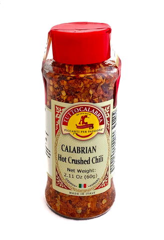 Calabrian Hot Crushed Chili Peperoncino - 2.11oz / 60g