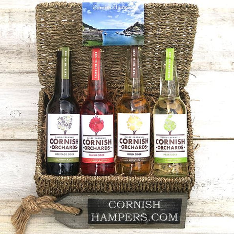 Cornish Real Ale & Cider Hampers