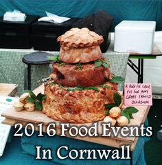 2016 Food Events in Cornwall