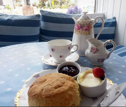 Cafe Cloud Newquay Cream Tea