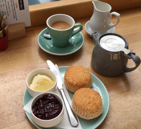 Cornish Cream Tea St Ives
