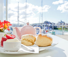 Padstow Harbour Cream Tea