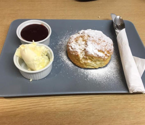 Hawkeys Café Cornish Cream Tea