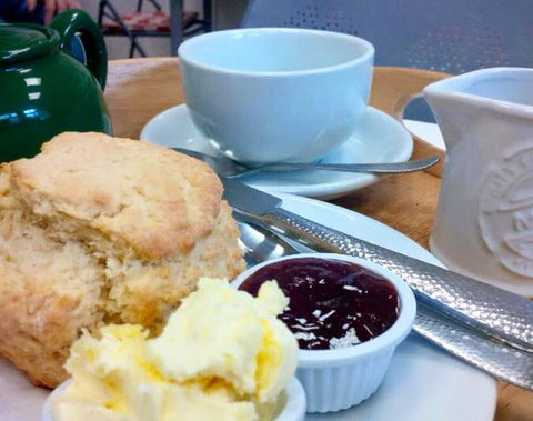 Cream Tea In Hayle