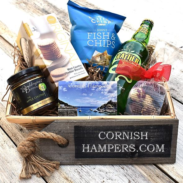 Cornish Cider & Savoury Snacks Hamper