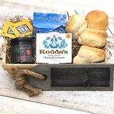 Cornish Cream Tea By Post - Gift Basket