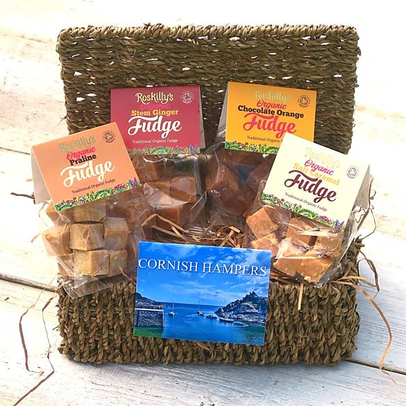 Small Cornish Fudge Hamper