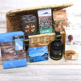 Cornish Hamper With Tea Towel of Cornwall