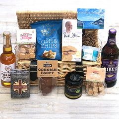 Mixed Cornish Food Hampers and Gift Baskets