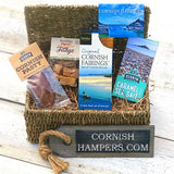 Small Cornish Food Hamper With Lid