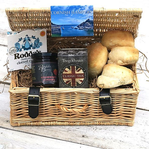 Luxury Tregothnan Cream Tea Hamper