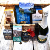 Sparkling Wine & Cornish Food Hamper