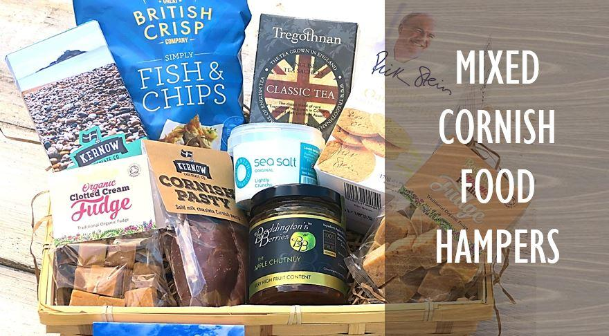 Mixed Cornish Food Hampers