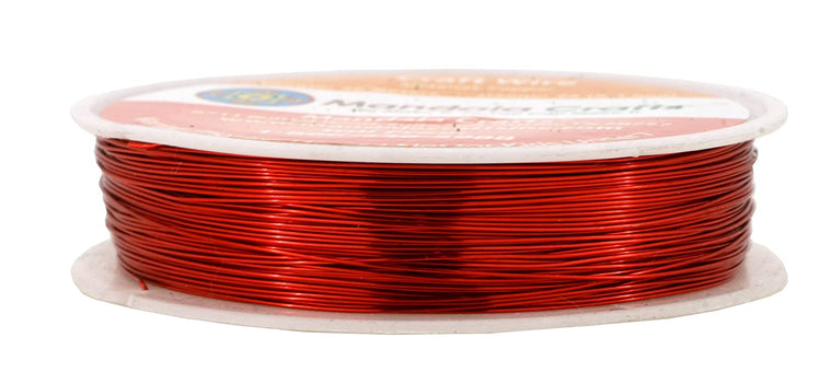 Mandala Crafts 18 20 22 24 26 28 Gauge Thick Solid Copper Wire for Beading Wrapping Jewelry Making