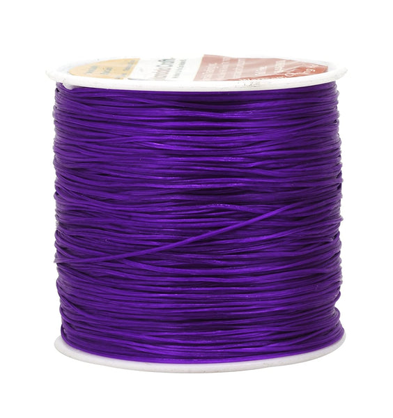 Mandala Crafts® Stretchy Elastic Cord, Beading Bracelet String, 100 Meters, 0.7mm (Combo 4)