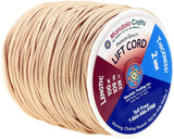 Mandala Crafts Braided Nylon Lift Cord, Venetian and Roller Blinds Replacement String for RVs, Windows, Roman Shade Repair