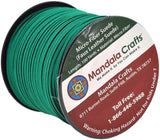Mandala Crafts 100 Yards 2.65mm Wide Jewelry Making Flat Micro Fiber Lace Faux Suede Leather Cord