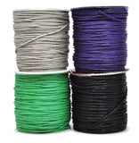 Mandala Crafts 1.5mm 109 Yards Jewelry Making Beading Crafting Macramé Waxed Cotton Cord Rope