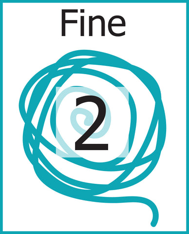 #2 Fine Weight Yarn (Sport, Baby)