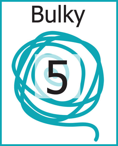 #5 Bulky Weight Yarn (Chunky, Craft, Rug)