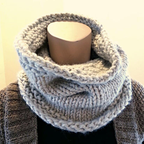 Class - Beginner Knitting - Cozy Cowl