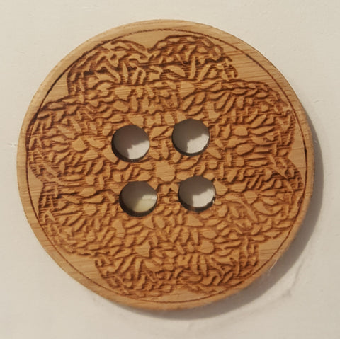 Katrinkles Bamboo Buttons 2 Inch