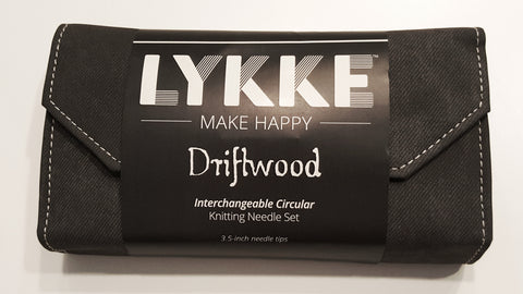 Lykke Driftwood Interchangeable Needle Set 3.5 Inch Tips