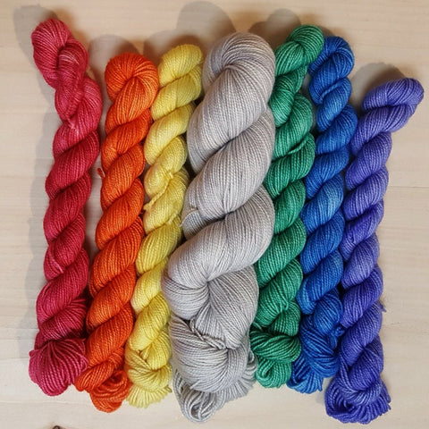 Fiber Stash Dyeworks Kits