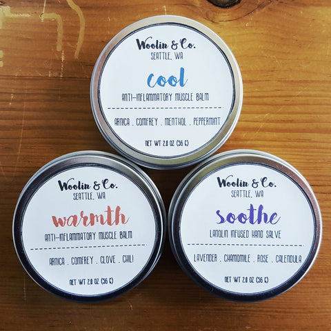 Woolin & Co. Balms and Salves