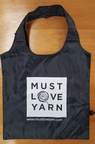 Must Love Yarn Shopper Tote