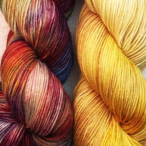 The Alpaca Yarn Co. Flutura Shawl Kits