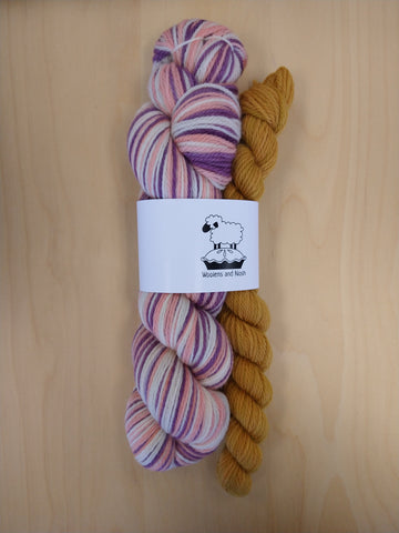Woolens and Nosh KISS Sock Kits Corriedale