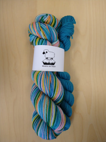 Woolens and Nosh Must Love Yarn Colorway