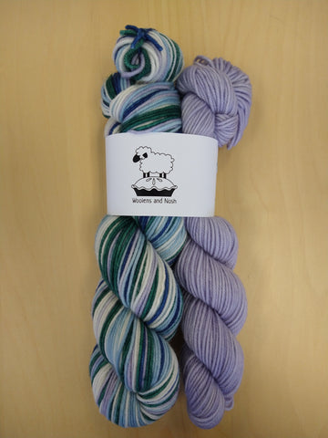 Woolens and Nosh DK Self Striping Kits