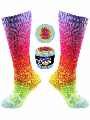 KFI Painted Sock