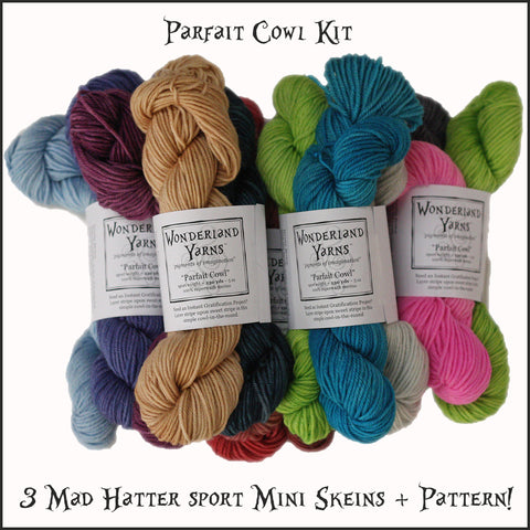 Wonderland Yarns Parfait Cowl Kit